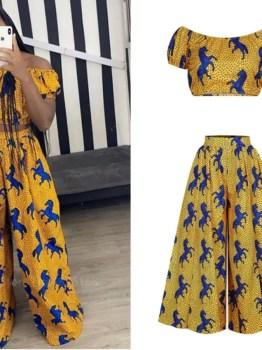 African 2 Piece Suit