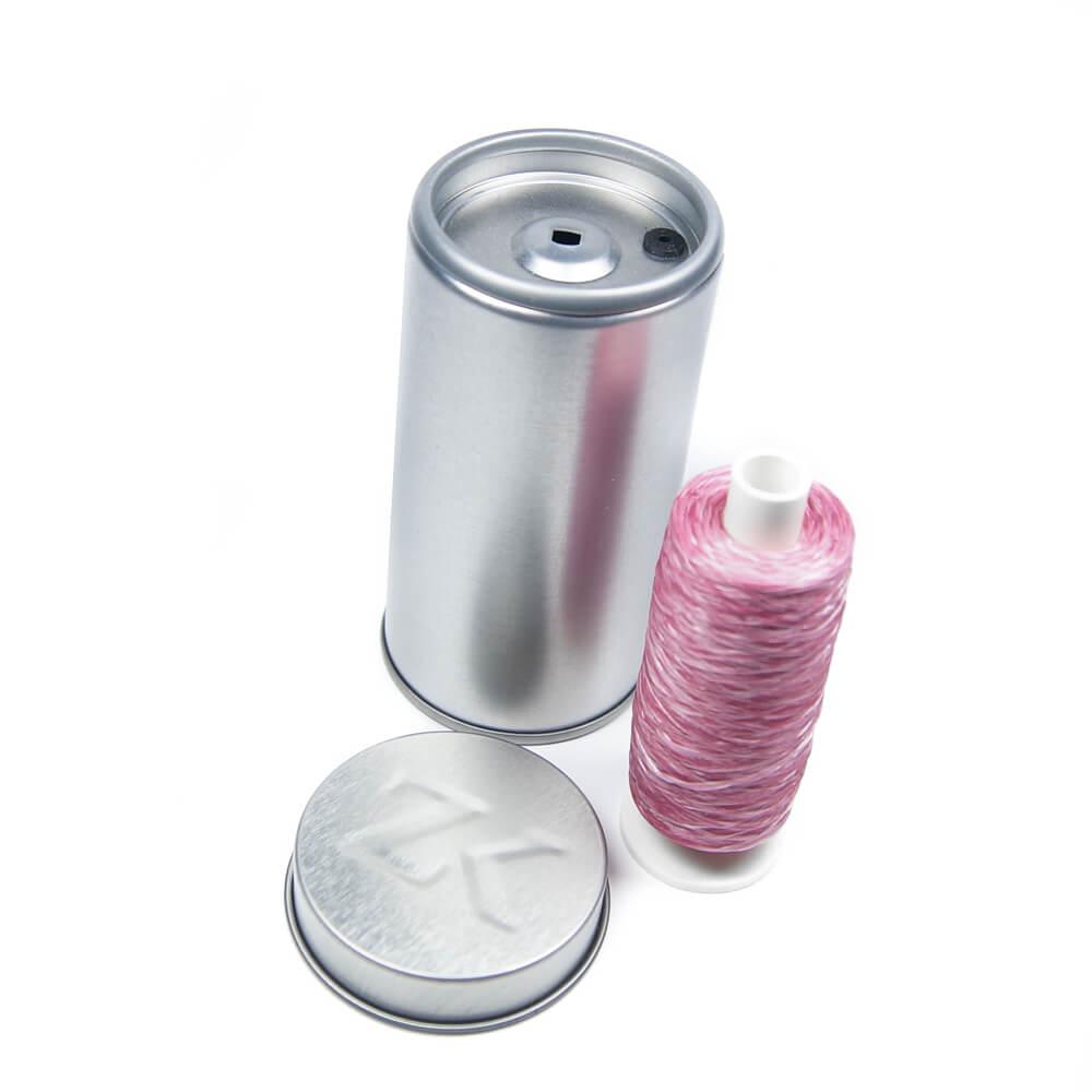 zahnseidenkampagne rosa zahnseide polyester