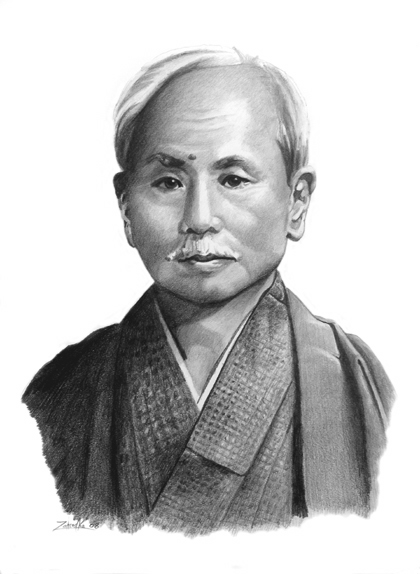 ciquenta e cinco anos da morte de Funakoshi sensei