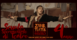"""""""Meditare in azione"""": lentezza e precisione nel quarto anno della Scuola Sperimentale di Teatro di Zahr Teatër"""