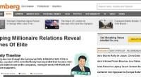 """Esta vez el aceitado aparato de censura del Partido no se ensañó con aquellos ciudadanos que denuncian los innumerables abusos de poder gubernamental,<a href=""""http://www.chinanationalnews.com/index.php?sid/207066788/scat/9366300fc9319e9b/ht/China-blocks-Bloomberg-for-revealing-assets-of-future-president-Xi-Jinpings-family""""> sino con Bloomberg</a>, uno de los principales (si no el principal) medio de información financiera del mundo perteneciente a Michael Bloomberg, el alcalde de New York. ¿La razón? <a href=""""http://www.bloomberg.com/news/2012-06-29/xi-jinping-millionaire-relations-reveal-fortunes-of-elite.html"""">Un artículo </a>en el que la agencia detalla la inmensa fortuna familiar que crece alrededor del próximo presidente de China, Xi Jinping. <strong>Por Yuri Doudchitzky</strong>."""