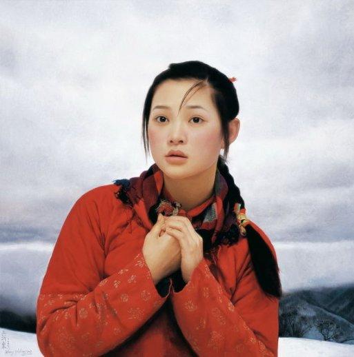 Una de las obras más famosas de Wang Yidong