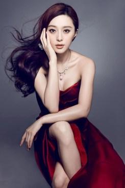 La actriz Fan Bingbing. Según la versión china de Forbes, es la famosa con más dinero de China.
