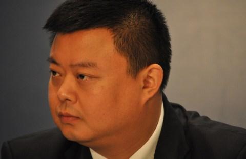 A pesar de las dificultades técnicas, financieras y políticas del proyecto, el empresario Wang Jing se mostró muy confiado en poder acabar el proyecto en torno al 2020. [FOTO: D. M.]