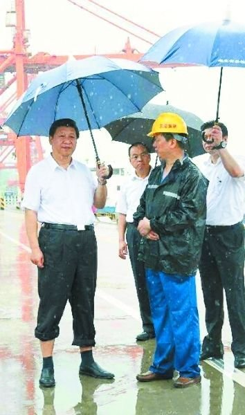La imagen que publicó Xinhua.