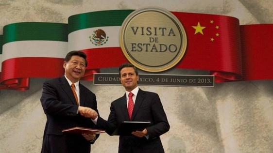 Xi Jinping visitó México a principios de junio de este año.