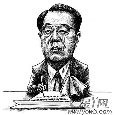 La viñeta de Hu Jintao publicada en 2006.