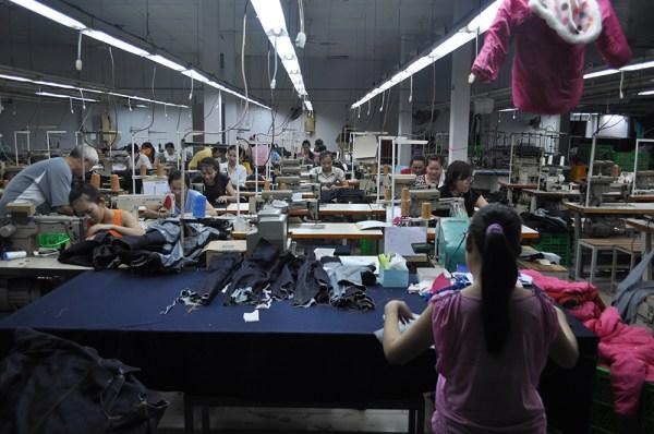 Pequeña fábrica textil en el sur de Vietnam [Foto: Daniel Méndez]