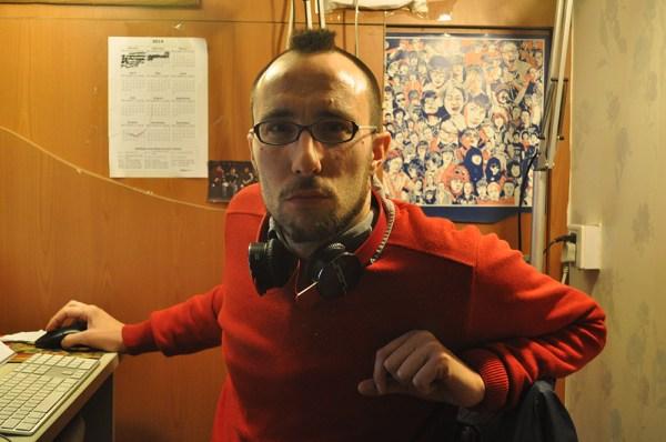 Charles Saliba, en su oficina de Pekín.