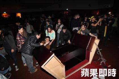Ese 18 de marzo, los estudiantes se hicieron con la tarima de la cámara legislativa.