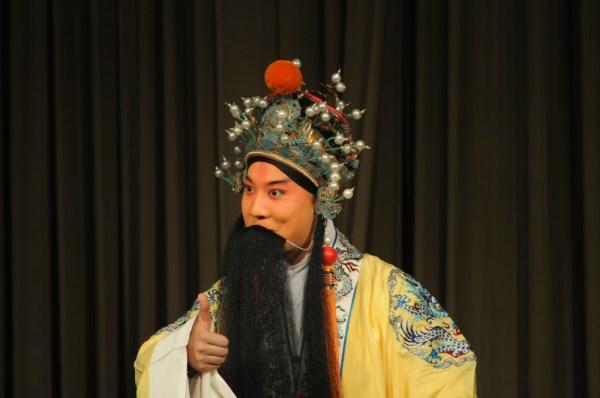 Los míticos personajes de la ópera de Pekín ya no llaman tanto la atención de los jóvenes chinos. FOTO: Daniel Méndez.