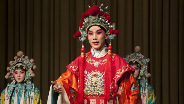 Actuación de ópera de Pekín. [FOTO: Daniel Méndez]
