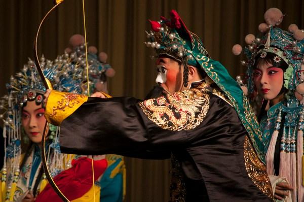 Uno de los bufones de la ópera de Pekín. FOTO: Daniel Méndez.