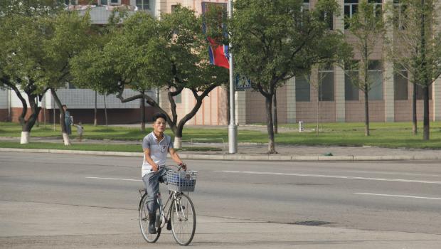 Ciudad de Pyongyang, julio de 2014 (FOTO: Daniel Méndez)