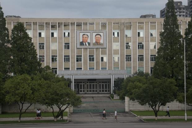 Los Kim, omnipresentes en Corea del Norte (FOTO: Daniel Méndez)