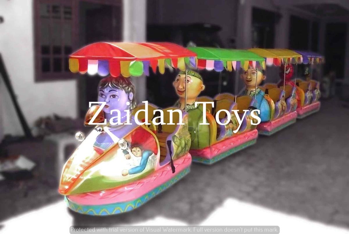 Jual Kereta Mini Rel Loko Animasi
