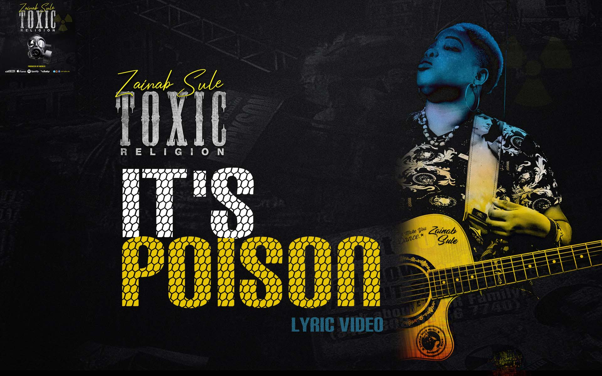 zainab sule toxic religion visualizer video