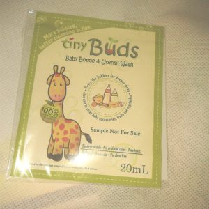 Tiny Buds baby bottle and utensil wash