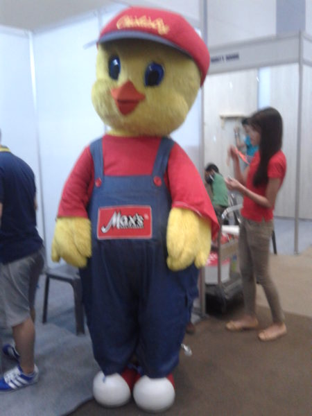 What's the name of Max's mascot?