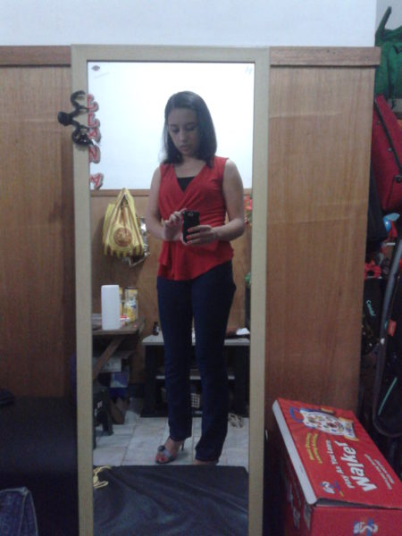 OOTD: top: Karimadon, jeans: Bench, shoes: m. nicole by figlia :P