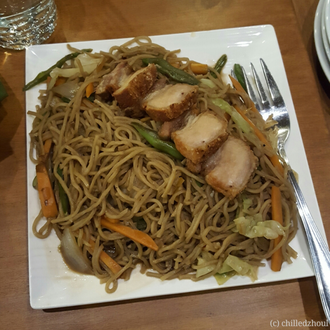 olive cafe_pancit canton