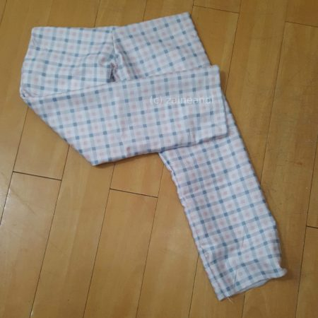 DIY pajama pants_hemming