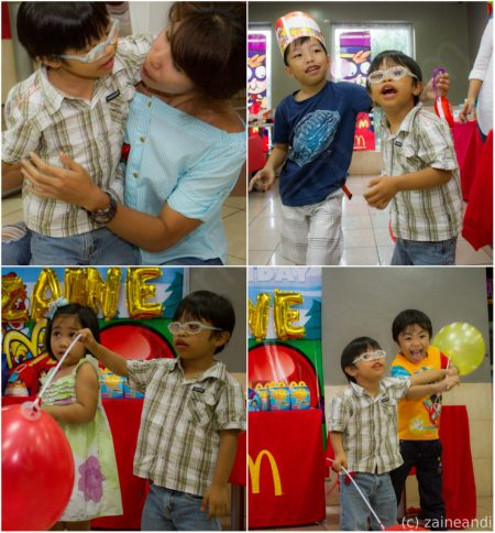 McDonald's McCelebrations kids