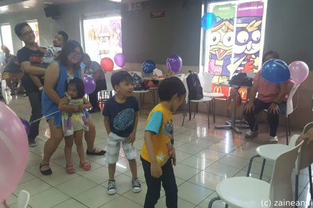 McDonald's McCelebrations kids game