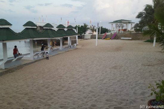 treasures of bolinao_beach volleyball court