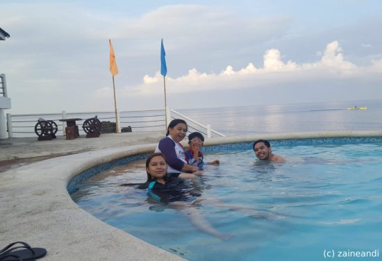treasures of bolinao_early morning swim