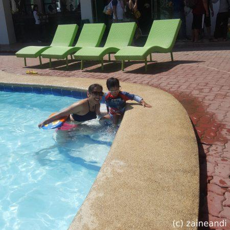 treasures of bolinao_pool time 2
