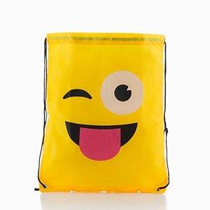 Eurowebb Zaino A Corde Faccine Emotion Emoj Design Poo 0