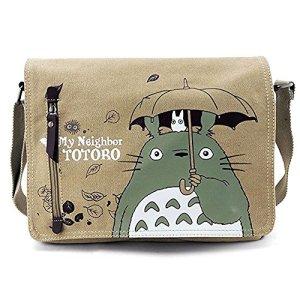 Fdorla Borsa A Spalla Unisex Per La Scuola Motivo Il Mio Vicino Totoro 0
