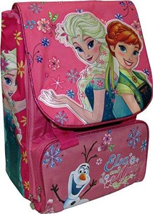 Frozen Zaino Scuola Estensibile Originale Frozen Prodotto Ufficiale Disney 0