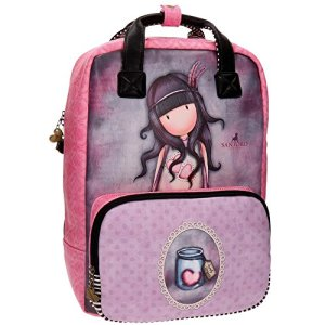 Gorjuss Jac Of Hearts Zaino Casual 40 Cm 1276 Liters Rosa 0