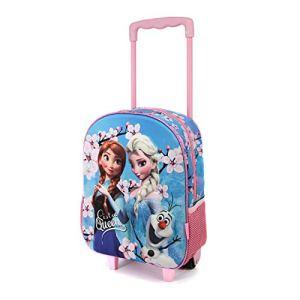 Karactermania Frozen Sister Queens 3d Zainetto Per Bambini Multicolore Rosablu 0