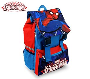 Media Wave Store Sp16101 Zaino A Spalla Estensibile Scuola Spiderman 41x285x20 Cm 0