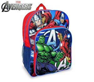 Marvel Av16102 Zaino A Spalla Adattabile Per Trolley Scuola The Avengers 42x31x12 Cm Media Wave Store 0