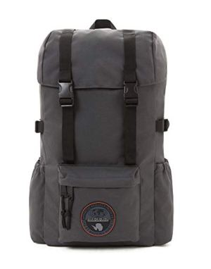 Napapijri Hoyal Day Pack Zaino Casual 42 Cm 20 Liters Grigio Dark Grey Solid 0
