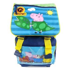 Peppa Pig George Zaino Trolley Estensibile Novit Anteprima Scuola 2014 2015 0