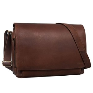 Stilord Tom Borsa A Tracolla In Pelle Da Uomo Donna Vintage Cartella Porta Pc 15 Pollici Documenti Messenger Casual Da Viaggio In Cuoio Colorehavanna Marrone 0