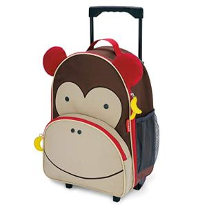 Skip Hop Valigia Con Ruote Design Zoo Marrone Monkey 0