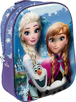 Star Licensing Disney Frozen Zainetto 3d Per Bambini 31 Cm Multicolore 0