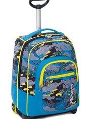 Trolley Fit Seven Alary Blu 35 Lt 2in1 Zaino Con Spallacci A Scomparsa Scuola Viaggio 0