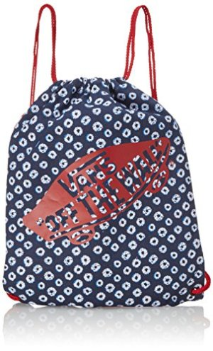 Vans Benched Novelty Borsa A Tracolla Donna Blu Dyed Dotsstripesbluered Taglia Unica 0