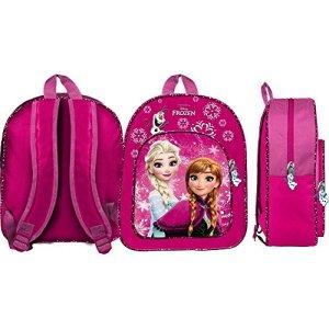 Zaino Frozen Elsa Anna Olaf Disney Borsa Asilo Bambina Scuola Cm32 42943 0
