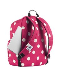 Zaino Invicta Ollie Pack Fantasy Rosa Bianco Tasca Porta Pc Padded Americano 25 Lt 0 1