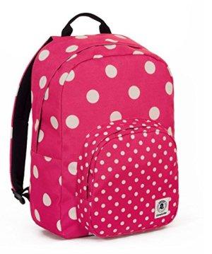 Zaino Invicta Ollie Pack Fantasy Rosa Bianco Tasca Porta Pc Padded Americano 25 Lt 0