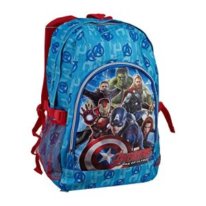 Zaino Scuola Grande 2 Tasche Avengers 0