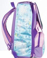 Zaino Scuola Estensibile Disney Frozen Magia Del Cuore Azzurro Rosa 31lt 0 1